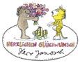 Logo Herzlichen Glückwunsch, Janosch!